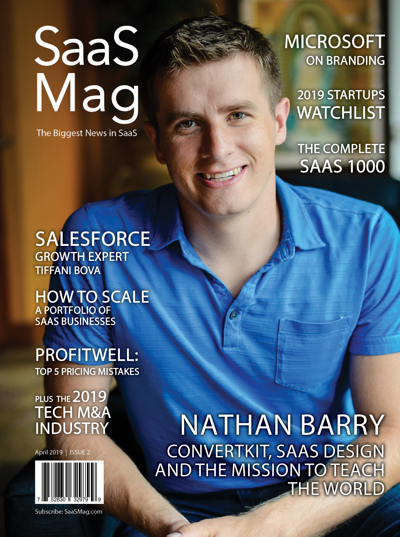 SaaS Mag Issue 2 Biggest News in SaaS